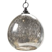 antique mercury glass. Fine Glass Voysey Industrial Loft Antique Mercury Glass Float Pendant  Kathy Kuo Home To A