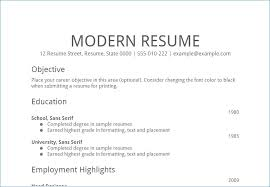 Objective Section Of A Resume | Kantosanpo.com