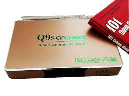 Đầu Android tivi box Q9s 2021 Q9s cập nhật toàn diện phần mềm ATV 7.12
