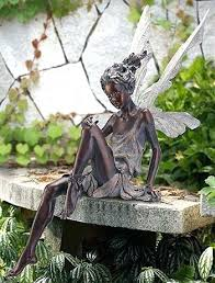 bronze garden statues sydney color sitting fairy statue not available outside