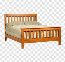 mission style furniture bed frame size