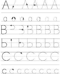 abc tracing sheet literacy activities handbook saskatchewan association of