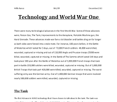 ww and changes in weapons technology gcse history marked by  document image preview