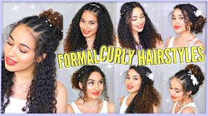 7 Best Curly Hairstyles For Prom Graduation Formals Weddings
