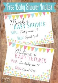 Free Baby Shower Invitations Printable Free Printable Baby Shower Invitation Easy Peasy And Fun