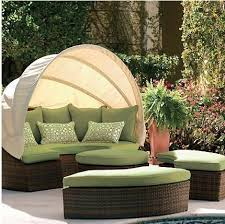 extsof04151 Outdoor Sofa with Canopy Extension from Exteta the Kitando  collection