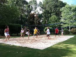 How To Construct A Volleyball CourtBackyard Beach Volleyball Court