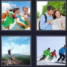 4 pics 1 word family couple edge skiing 300x300