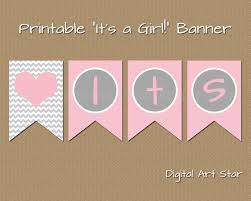Baby Shower Banner Printable Baby Shower Banner Editable Baby Shower Banner