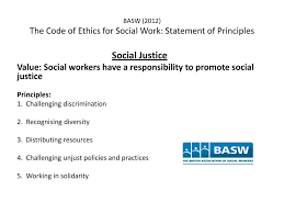 Social Work Values Social Work Ethics Values Ppt Download