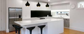 designer kitchens nz. modern custom black and white kitchen designed by neo design auckland designer kitchens nz g