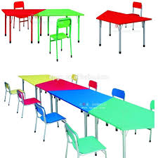 preschool table and chairs. Used Preschool Tables And Chairs Round Children Reading Table Chair Inside . D