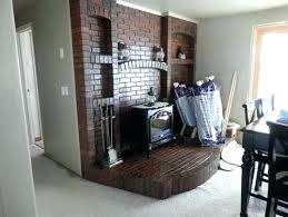 remove brick fireplace removing brick fireplace any ideas on how to best remove the brick so remove brick fireplace