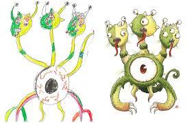 monster images for kids.  Monster Artistsredrawchildrendrawingsinspirationmonsterproject21 Intended Monster Images For Kids O