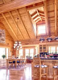Log Home Open Floor Plan  Log Homes  Inside U0026 Out  Pinterest Open Log Home Floor Plans