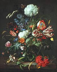 paintings reions heem jan davisz de vase of flowers 1645