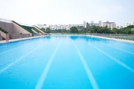 swimming pool lane lines background. Empty Swimming Pool With Lane Lines Free Photo Background G