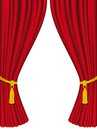 Wonderful Red Curtain For Backstage Design Vector 05