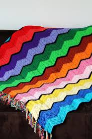 Ripple Afghan Pattern Awesome Decorating