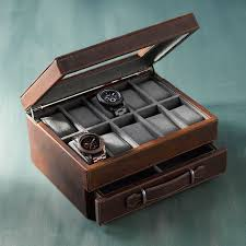 watch box from fossil jewelry boxes watch boxes humidors watch box from fossil