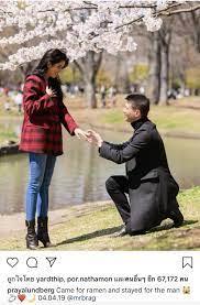 ปู ไปรยา เซย์เยส! แมทธิว คุกเข่าขอแต่งงานที่ญี่ปุ่น