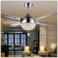 bold design crystal chandelier ceiling fan 17
