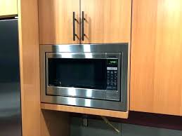 kitchenaid stainless steel microwave inch microwave wide oven series cu ft built in whirlpool trim kit