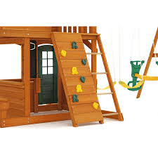 Amazoncom Big Backyard Ashberry Ii Wooden Play Set Toys U0026 GamesBig Backyard Ashberry Wood Swing Set