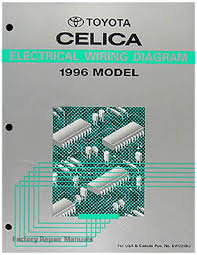 1996 toyota celica electrical wiring diagrams original shop manual 1996 toyota celica electrical wiring diagrams