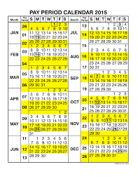 Federal Pay Period Chart Printable 16 Examples 2019 Federal Pay Period Calendar