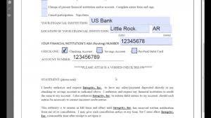 Social Security Direct Deposit Form Amazing Bg44 Direct Deposit Forms Form Exceptional Templates Quickbooks Pdf