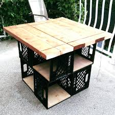 michaels crate coffee table one nightstand next to my beddiy crates