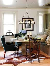 dining room rugs on carpet. Cowhide Rug In Dining Room Rugs On Carpet E
