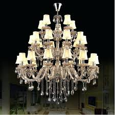 large crystal chandelier large crystal chandelier lighting modern led crystal lamp villa staircase big crystal light large crystal chandelier