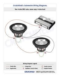 mono amp wiring diagram subwoofer wiring diagrams sonic electronix Boss Subwoofer Wiring Diagram mono amp wiring diagram subwoofer wiring diagrams