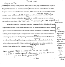 trifles essay thehiddenmessageintheplaytrifles g trifles by susan trifles by susan glaspell students teaching english paper strategiessecond peer edit page page page