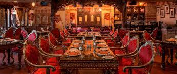 Indian Restaurant Design Antique Bazaar Authentic Indian Restaurant