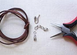 materials for diy leather wrap bracelet