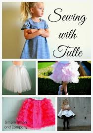 satin and tulle skirt tutorial