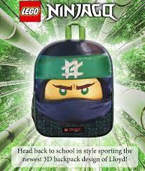 Lego Ninjago Lloyd Rucksack für Kinder 3D Tasche: Amazon.de: Koffer,  Rucksäcke & Taschen