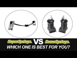 Sumosprings Fit Chart Supersprings Helper Springs For Additional Load Support