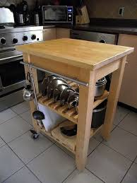 Bekvam kitchen cart Diy Ikea Bekvam Cart Cookware Storage With Clever Use Of Cabinet Handle As Rail For Hanging Items Slats To Hold Lids In Place Pinterest Ikea Bekvam Cart Cookware Storage With Clever Use Of Cabinet