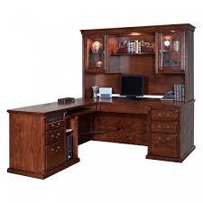 55 executive l shaped desk with hutch best modern furniture