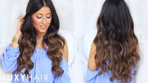 Luxy Hair Style my goto hair waves how to curl your hair tutorial luxy hair 4366 by wearticles.com