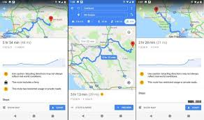 Google Charts Mobile Google Maps Mobile App Adds Elevation Chart For Bicycle