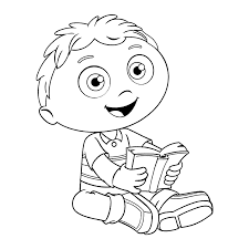 Pbs Kids Coloring Pages Coloring Pages For Kids