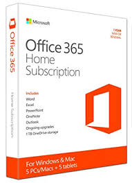 Microsoft Office 365 Pricing Microsoft Office 365 Home Subscription Licence 1 Year