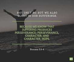 The triumph of faith … 3 not only that, but we also rejoice in our sufferings, because we know that suffering produces perseverance; Verse Of The Day Not Only So But We Olive Tree Bible Facebook