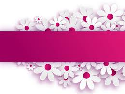Flower Powerpoint Signboard Flower Backgrounds For Powerpoint Templates Ppt