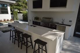 white granite outdoor kitchen countertop by adp surfaces in orlando florida